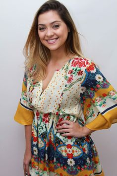 LOOKSLY - A atriz Polliana Aleixo com vestido do Verão 2017 no Meeting Sly, evento que aconteceu no RJ para apresentar a coleção a personalidades da Globo