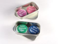 2 x magnets complete with gift tin. Tin Gifts, Stocking Fillers, Magnets, Best Friends, Best Gifts, Fun, Etsy, Beat Friends, Bestfriends