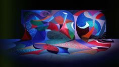 "David Hockney 1995-1996 Snails Space with Vari-Lites, ""Painting as Performance"""