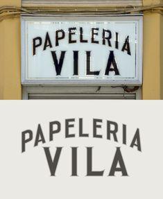 Papelería Vila. Valencia