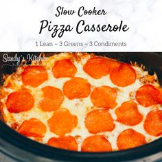 Medifast Recipes, Low Carb Recipes, Crockpot Recipes, Cooking Recipes, Oven Cooking, Kitchen Recipes, Clean Recipes, Pizza Casserole Low Carb, Low Carb Pizza