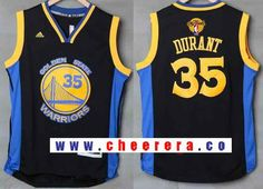 c6ffb674e0c mens golden state warriors 35 kevin durant black with blue edge stitched nba  adidas 2017