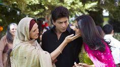 Bollywood, My Name Is Khan, Karan Johar, Shahrukh Khan, Kajol My Name Is Khan, Shahrukh Khan And Kajol, Bollywood Couples, Karan Johar, Vintage Bollywood, King Of My Heart, Anushka Sharma, Film Director, Im Happy