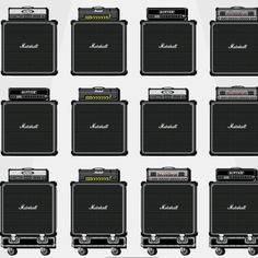 Dozen photos of Marshall amps illustrates why some genius came up with the idea of separating the horn amplifier from the head - cSw  http://www.pinterest.com/claxtonw/music-studio-stuff/ - As technology improves, it's often the electronics of the head more than the physics of the speaker. Replacing the head is cheaper. AND, from the roadie's point of view - carrying two pieces of equipment is less awkward & lighter!