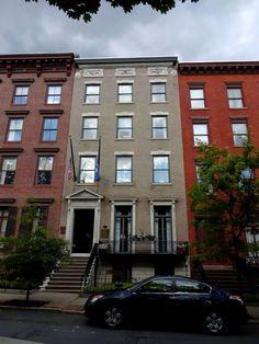 Albany (NY) History: 4 Elk Street Home of Franklin Delano Roosevelt from 1910 to 1912