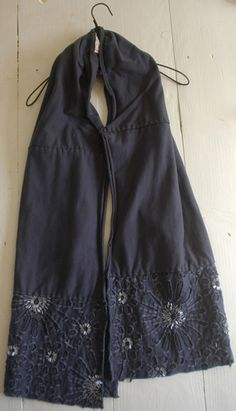upcycled t-shirt reverse applique scarves - Google Search
