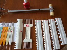 When one is totally involved in the hobby of Machine Knitting, we tend to acquire more than one knitting machine. We seem to want one of each gauge, but tools tend to get mixed together. Today, I h…