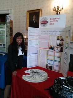 19.  Broadcom sponsors science and technology education and competitions for youths.  Broadcom Masters competition winner pictured as part of the Scholars Share Science Projects at the White House program.