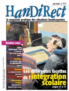 Couverture du numéro 84 : Les différentes facettes de l'intégration scolaire.