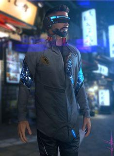 Sci-fi Outfit, Lucas Hurtado on ArtStation at https://www.artstation.com/artwork/kLXRK