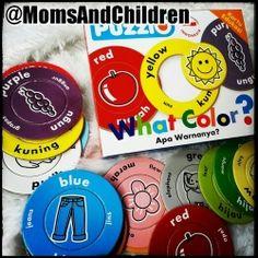 Puzzle Edukasi | PuzzlO : What Color? Melalui PUZZLO What Color? anak-anak bermain sambil belajar mengenal berbagai warna dasar.  Contact us : Line@ : @MomsAndChildren whatsapp : 083897632306 BBM : 769432FC Color Puzzle