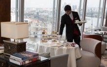 TĪNG is the perfect location for Afternoon Tea, with a delicious menu and breath-taking views across London! www.ting-shangri-la.com