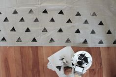 diy patterned picnic blanket | almost makes perfect