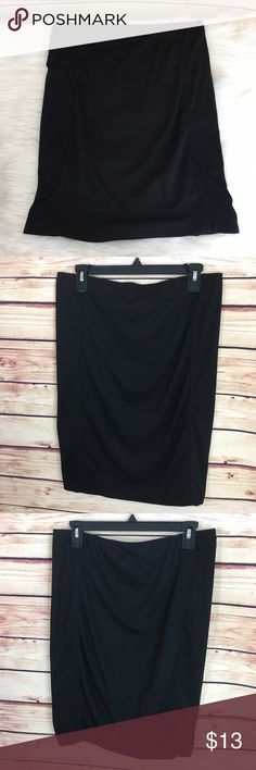 """✨ Sociology black skirt ✨Newly listed items are priced to move.. please help me clear out my actual closet 😉 Brand: Sociology Size: L Type: black straight skirt  Details: bodycon fit, slip on  Waist measurement (laying flat): 16"""" Length: 22"""" Condition: preloved, excellent condition  ✨Build a bundle with all your likes and use the automatic bundle discount -or- make me a bundle offer✨ Sociology Skirts Midi"""