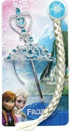 Frozen Elsa Platte, Tiara and Wand accessory set available now at www.mybabybundle.com.au
