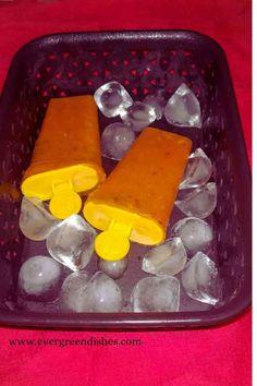 Frozen Yoghurt Recipes, Frozen Desserts, Fun Desserts, Summer Snacks, Summer Treats, Summer Fruit, Mango Recipes, Ice Cream Recipes, Fruit Recipes