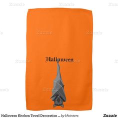 Choose from a variety of kitchen towels from Zazzle. Shop now for custom kitchen towels & more! Creepy Halloween Decorations, Halloween Kitchen, Kitchen Hand Towels, My Love, My Boo