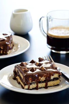 Peanut butter cup eclair cake to go crazy over. The peanut butter lovers in your life will adore this cake.