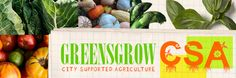 Greensgrow Farm CSA: City Supported Agriculture in Philadelphia