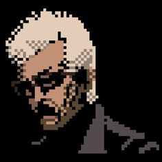 Pixel art (The movie character series) by jaebum joo, via Behance