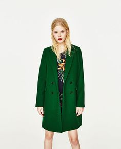 Image 5 of MASCULINE COAT from Zara