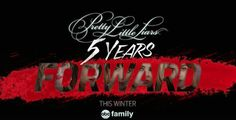 Ok, I'm leaving now. Check out the promo for the Winter premiere of #PLL #5yearsForward   http://youtu.be/tkKNBEu6cII?a