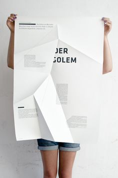 poster   Night (fold poster) by Sieglinde Fischer    #typography