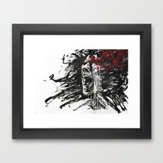 "Get $10 Off $75 | $15 Off $100 | $25 Off $125 Today! ""The Pain of Cluster Headache"" by Agnes-Cecile for *Arte Cluster Project*"