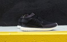 Adidas Originals add a new silhouette to their Tubular Series with the Tubular Nova Primeknit. Made with the base of the Tubular Nova, Adidasdecides to replace the neoprene upper with a Primeknit upper and put a sock-like construction. Available here.