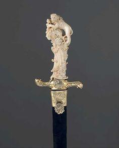 Sword handle - lion  so intricate.