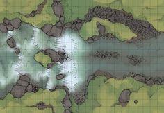 D&D dragon sleeping in a lake - Google Search