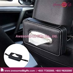 Leather Car Tissue Box manufacturer in Phnom Penh. Box Manufacturers, Phnom Penh, Tissue Boxes, Cool Items, Laptop Bag, Cambodia, Travel Bags, Awesome, Car