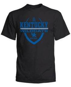 b0f22be03c0 J America Men's Kentucky Wildcats Football Icon T-Shirt - Black L