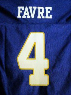 FREE Shipping! NWT! MSRP $24.99! Brett Favre Vikings Replica Jersey! Youth 4-5. #NFLTeamApparel #MinnesotaVikings