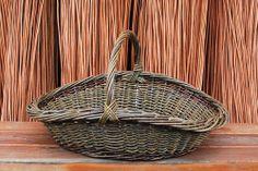 garden basket Willow basket by Katherine Lewis