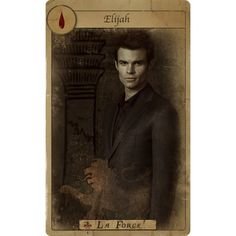 Imagens de The Originals destacam o elenco da série em cartas de tarô! ❤ liked on Polyvore featuring other