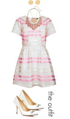 Julie Leah Blog // Celebrate Spring: Bridal Shower Outfit