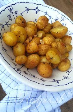 Marinované pečené zemiaky – Recepis.sk Ham, Food And Drink, Potatoes, Vegetables, Recipes, Hams, Potato, Vegetable Recipes