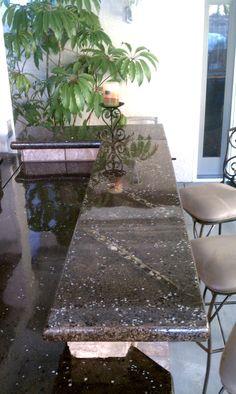 concrete countertop using Z Counterform