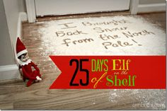 New Pictures Erin Go Hooah: 25 Days of Elf on the Shelf Ideas: A Family . Concepts Erin Go Hooah: 25 Days of Elf on the Shelf Ideas: A Family … Merry Little Christmas, Family Christmas, Christmas Crafts, Christmas Ideas, Bad Elf, Elf Auf Dem Regal, Elf On The Self, Holiday Fun, Holiday Decor