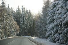 Straße nach Freiberg