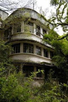 abandoned hospital in Japan.