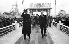 1945, June 7th. Oslo. King Haakon returning from exile. NRK.no - Store norske