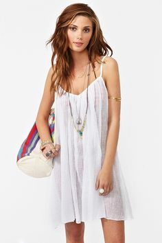 The perfect flowy beach cover up!