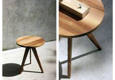 lampemm / end tables from walnut  http://www.lampemm.com/