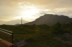 Piani di Artavaggio, Moggio LC - Vista dal Rifugio Nicola #artavaggio #lecco #mountain #nature #green #sky #clouds #blue #italia #landscape #panorama #paesaggio #tramonto