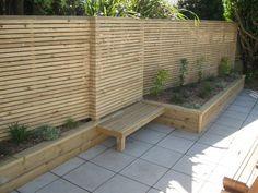 Prev Outdoor Landscaping, Backyard Patio, Rustic Gardens, Outdoor Gardens, Backyard Makeover, Contemporary Garden, Small Garden Design, Garden Borders, Garden Seating