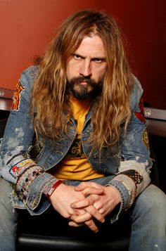 Rob Zombie - He's not conventionally handsome but he's very much my type.