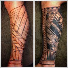 best samoan tattoos and meanings Trible Tattoos, Tatau Tattoo, 1 Tattoo, Calf Tattoo, Samoan Tattoo, Cover Tattoo, Badass Tattoos, Life Tattoos, Body Art Tattoos