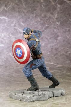 Captain Americ Marvel Minimates Doppelpack Captain America 3 Civil War Serie 66